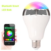 arrival surrounds - Smart wireless bluetooth bulb new arrival W led RGB Music Audio speaker Bulb light E27 AC100 V CE FCC UL TUV