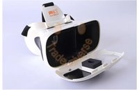 Wholesale RITECH Riem plus Head Mount Degree VR Virtual Reality D Glasses Google Cardboard for quot Phone For Iphone s s plus Free Shippin