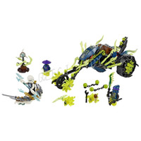 ambush chain - NEW Bela phantom Ninja Chain Cycle Ambush Motor Masters Minifigure toys Building Blocks Compatible with Legoe