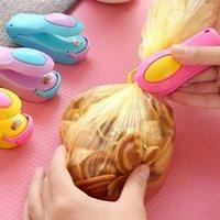 Wholesale Household Vacuum Food Sealer Mini Portable Heat Sealing Machine Impulse Bag Sealer Seal Machine Poly Tubing Plastic Bag Kit Tool order lt no
