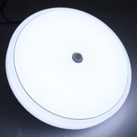 best control surface - Best Promotion W Pure Warm White SMD LED Infrared PIR Sensor Ceiling Mount Lamp Light Bulb AC110 V