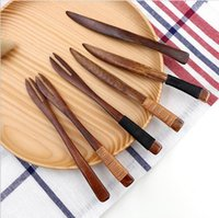 Wholesale Perfect Wooden Knive and Fork Set Cheese Sandwich and Butter Spreader Scraper Dessert Fork