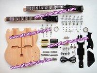 Wholesale Afanti Music SG Double Head style electric guitar kit ASG D