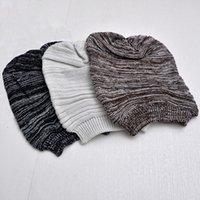 assorted winter hat - 2016 new arrival hot selling fashion winter hat women men unisex cap knit wool assorted colors cotton Beanie warm casua