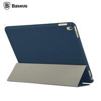 Wholesale 100 Original Baseus Brand for iPad Pro quot Case Slim Foldable Leather Case Full Body Case For iPad Pro Mini Tablet Case