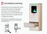 Cheap Wholesale-Free Shipping! KO-ML10 Home door handles locks cheap prices and fingerprint lock safe