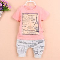 baggy shorts boy - Children Set Boys Set clothes Fashion Summer Children Print T Shirt and Baggy Shorts boys clothes set Clear