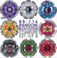 Wholesale 4D hot sale beyblade In Stock BeyBlade BB116 Jade Jupiter D Complete Set Of Random Booster Beyblade Metal Fusion M088 free