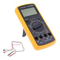 Wholesale Best Quality LHD A AC DC Professional Electric Handheld Tester Meter Digital Multimeter Fast Ship In Hours