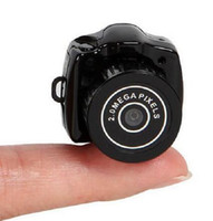 Wholesale Spy Mini Camera Y2000 P HD Webcam Video Voice Recorder Micro Cam Smallest Camara Hidden Digital Mini Cam DHL fast