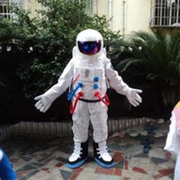 astronaut dress - Spaceman Mascot Costume Astronaut Halloween Party Dress AdultSize