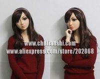 Wholesale SH crossdress silicone female mask realistic silicone masks party mask