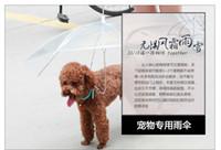 Wholesale Umbrella Umbrella Teddy pet Bichon puppy dog pet supplies small dogs poncho raincoat