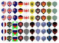Wholesale High quality genuine Cavaliers Darts set Darts tail PET darts wings PVC dast flights