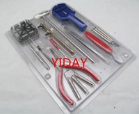 Wholesale price Watchband disassembly tool kit Pieces Watch Repair Tool Kit Red