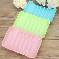 best bathroom brands - The Best Price Candy Color Suction Draining Cup Holder Bathroom Shower Soap Dish Tray Storage Brand New