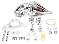 Wholesale Motorcycle Air Cleaner Kits for Harley Rocker Softail Cross Bones Softail CHROME Cleaner Kits Chrome Color MT226