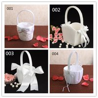 basket making supplies - Supply wedding flower and flower basket wedding small basket manufacturer and custom made petals small basket