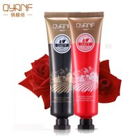 Wholesale QYANF Perfume Rose hand cream g hand Skin Care Anti Aging Repair Whitening Nourishing Ageless Anti Chapping Feet Care Cream