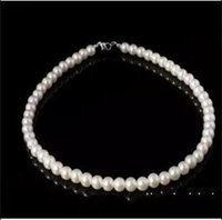 stainless steel necklace clasp - 2016 Cheap Ivory Bridal Jewelry Pearls Necklace Wedding Dresses Accessory Necklace Evening Prom Dress Jewelry Bride Pearls Necklace In Stock