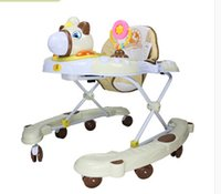 Wholesale 2016 new style Baby walkers u type multi function folding with music children walkers hot sale