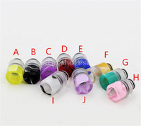 Wholesale 2016 Puff s Drip Tips acrylic Puff s mouthpiece RDA Drip Tips Colorful Drip tip fit RDA Atomizer DHL Free