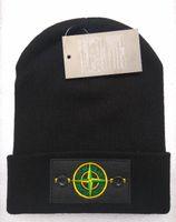 Prezzi Wool hat-1 pezzo / lot di marca nuova maglia di lana cotone caldo cappello unisex del cappello autunno / inverno mescolato il cappello a maglia