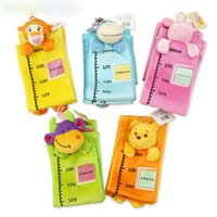 baby height chart - Baby Toys of Height Charts with Cartoon style and plush toys put photos cloth toys WJ203 WJ206