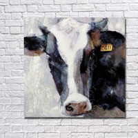Wholesale Cow Pictures Wall Art Decorative Home Decor Wall Pictures Modern Oil Painting on Canvas for Sale