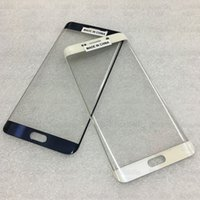 bar parts kit - Original Front Glass Parts Replace For Samsung Galaxy S6 Edge Plus G9280 Outer Touch Screen Replacement Repair Tool Kits Sticker Freeship