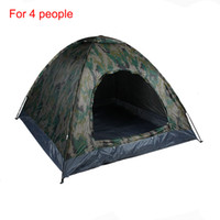 Wholesale New Arrival Four People Monolayer Tent Shelters For Sport Hiking Camping Outdoor Gear CL16
