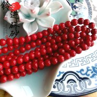 bamboo coral necklace - oil stained Sea Bamboo Coral Bead Necklace Bracelet beads scattered DIY semi finished parts manual material