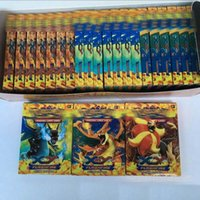 Wholesale Poke Trading Card Games Newest Edition XY Anime Monsters Pikachu Cards board games Card Toys for Children Kids