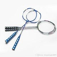 Wholesale Aluminum Alloy Badminton Rackets for Amateurs High Quality Graphite One piece Ball Control Badminton Rackets Sport Dexterous for Juniors