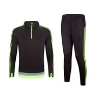 best men s suits - Best Quality Soccer Tracksuit Long sleeve Training suits Survetement Football uniforms chandal