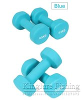 Wholesale KG Hexagonal Dumbbell Weight Loss Equipment Home Workout Gym Sports Fitness Dumbbell for Women Lady Dumbbells Sports tool