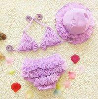Wholesale 2016 new bikini girls children baby bathing suits for girls swimwear kids girl bikiny swimming clothes mermaid swimwear for kids
