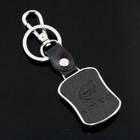 Wholesale Suzuki Vitara Swift SX4 Metal And Leather Car Keyring Emblems Keychain For Suzuki Grand Vitara Jimny Key Ring Chain Pendant