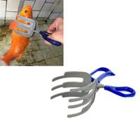 aluminium fishing pliers - New Aluminium Alloy Control Fish Clamp Claw Tong Grip Clip Fishing Tool Tackle Blue