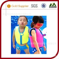 Wholesale 2016 New Children Swimming Learning Jacket Vest Infant Life Jacket Kids Floatable Swimsuit Boys Girls Cool Rafting Vest
