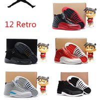 b boy game - hot quality Kids air XII Retro12s Basketball Shoes Mens s Flu Game French Blue s The Master Gym Red Taxi Playoffs Shoes With Box