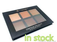 Wholesale in stock Anastasia Cream Contour Kit Light Medium deep Makeup Face Powder Foundation Concealer Anastasia contour cream kit