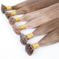 "Cheap 18""-24"" Keratin Pre-bonded Flat Tip Brazilian Human Hair Extensions Many Colors to Choose"