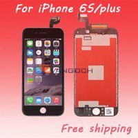 Wholesale Grade A For iPhone S S Plus LCD Display Touch Digitizer Complete Screen with Frame Full Assembly Replacement By DHL