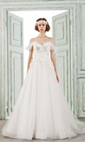 bella shape - BELLA BRIDE Sweetheart V Shape Neck Lace Ball Gown Beading Sash Ruffles Tulle Church Wedding Dress Bridal Gown White