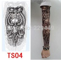 Wholesale 4pcs Temporary d Tattoo Sticker for men Fake D Tattoo Sleeve Body Arm Tatoo Tattoo For Men Women Sex Product Freeshipping