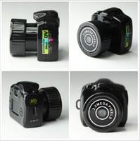 Precio de Micro cámara espía oculto-Espía mini cámara Y2000 720P HD Webcam video grabadora de voz micro de la leva cámara más pequeña Camara Oculta Digital Mini