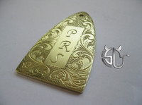 Wholesale retro P R S pattern handmade brass truss rock cover for PRS electric guitar
