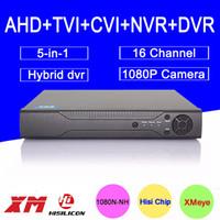 Wholesale Hisiclion Chip DaHua Metal Case CH Channel P N P P H Hybrid in TVi CVI NVR AHD DVR Freeshipping