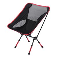 Wholesale Different Colors Beach Chair Fishing Chair Moon Chair Heightened Chair Foldable Stool Outdoor Equipment For Outoor Activities